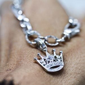 925S Tacori CZ Queen Bracelet